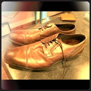 Men's Georgio Brutini Dress Shoes 9.5 Brown